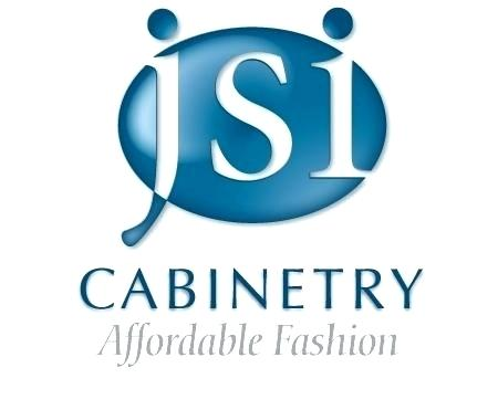 "JSI Cabinetry Logo with quote: ""Affordable Fashion"""