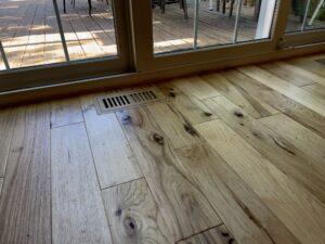 Solid Hickory hardwood floor